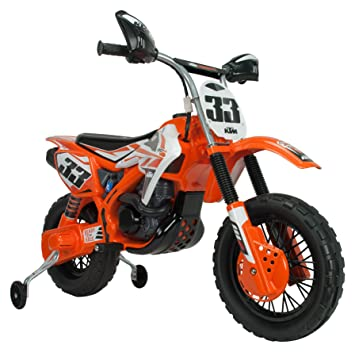 INJUSA - Moto KTM Enduro 6 V, Color Naranja (683): Amazon.es: Juguetes y juegos