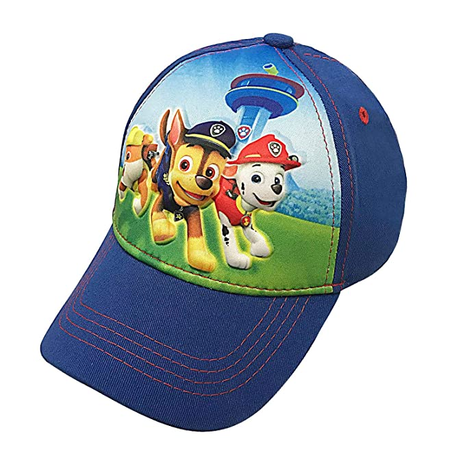 7d534b5db Nickelodeon Toddler Paw Patrol Character Boys Baseball Cap 100% Cotton -  Age 2-5