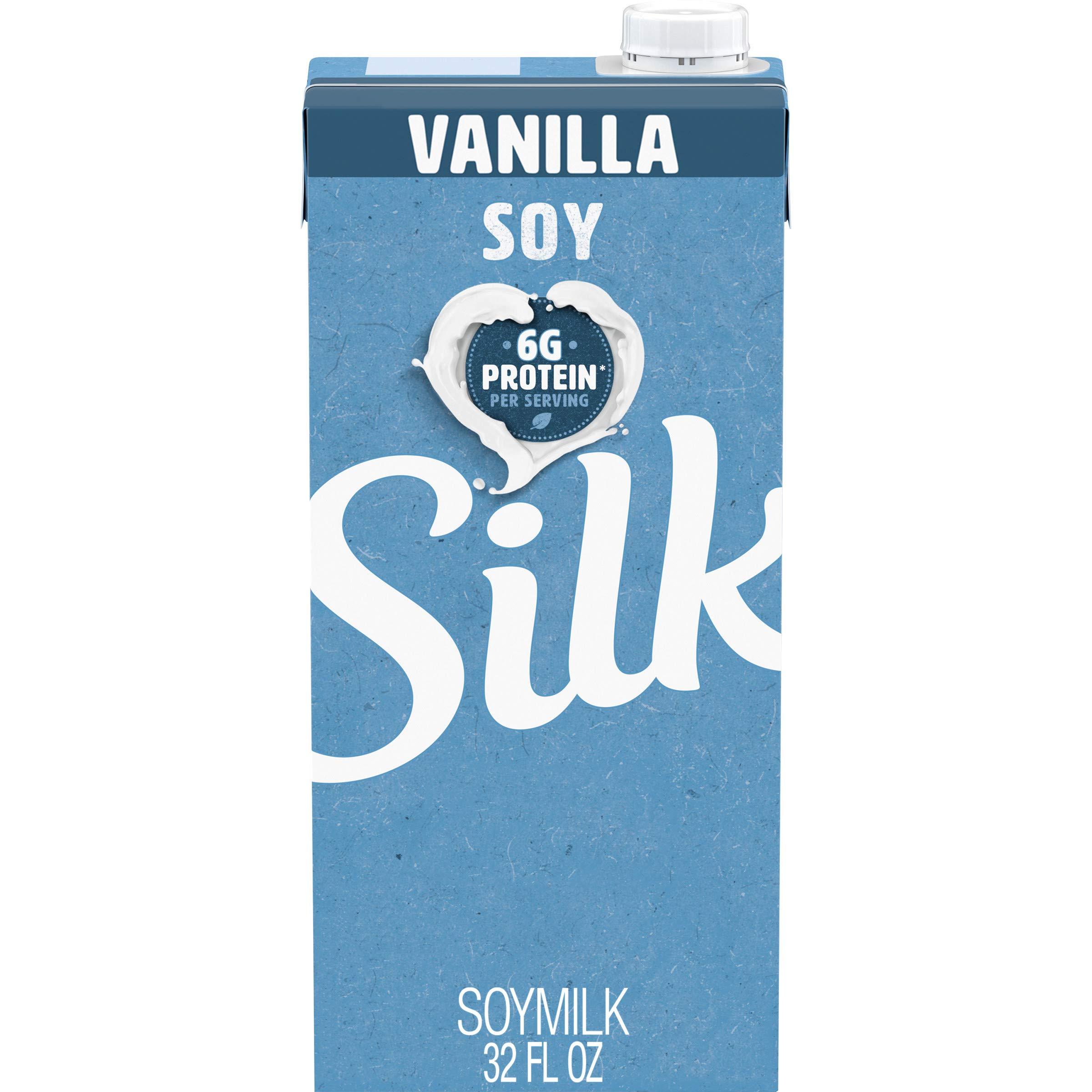 Silk, Soy Milk, Vanilla, 32 oz