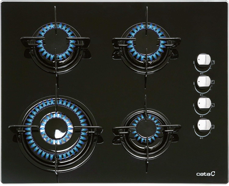 CATA CIB 6031 BK Integrado Encimera de gas Negro - Placa ...