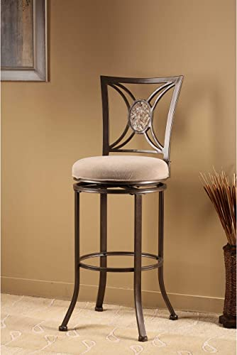 Hillsdale Rowan 26″ Swivel Counter Stool