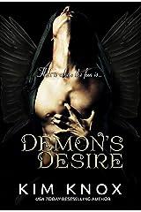 Demon's Desire Kindle Edition