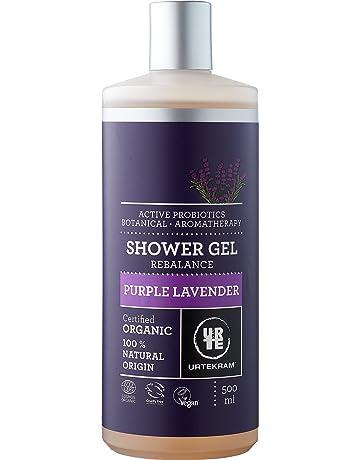 Urtekram Purple Lavender Gel de Ducha BIO, Probióticos Activos, 500 ml