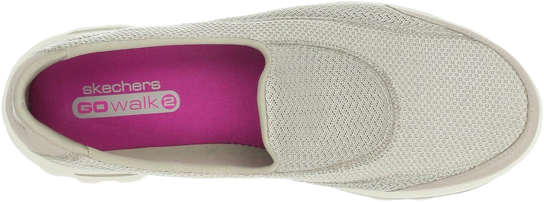Skechers Damen Go Walk Sneakers, 2 Linear Sneakers, Walk Beige 206d73