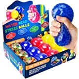 KELZ KIDZ Durable Large Squishy Water Bead Stress Balls (12 Pack) - Great Sensory Toy for Anxiety Relief for Children and Adu