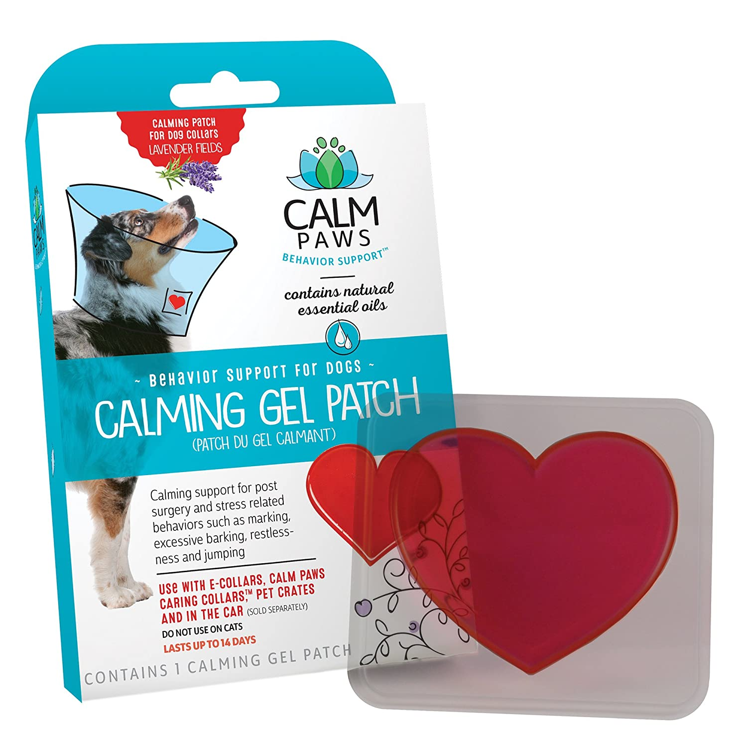 Calm Paws 27875 Calming Gel Patch Dog
