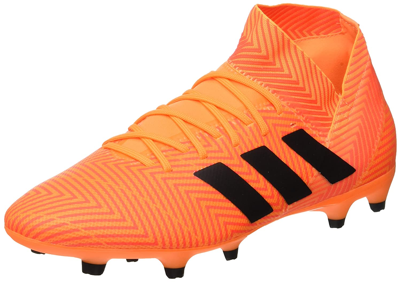 Orange (Mandar Negbás Rojsol 000) adidas Nemeziz 18.3 FG, Chaussures de Football Homme 41 1 3 EU