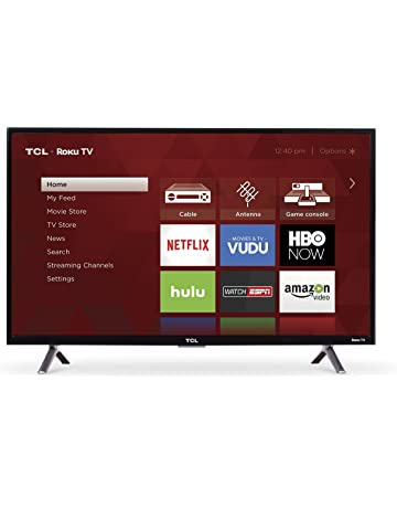 78be55542 TCL 32S305 32-Inch 720p Roku Smart LED TV (2017 Model)