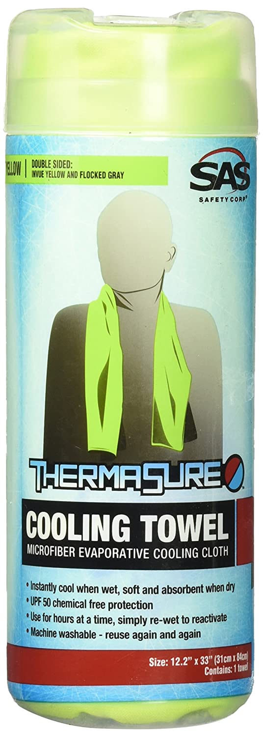 Invue Yellow SAS Safety 7300-02 ThermaSure Cooling Towel