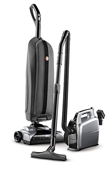 hoover platinum collection bagged corded upright vacuum with canister vacuum cleaner uh3001com - Canister Vacuum Cleaners