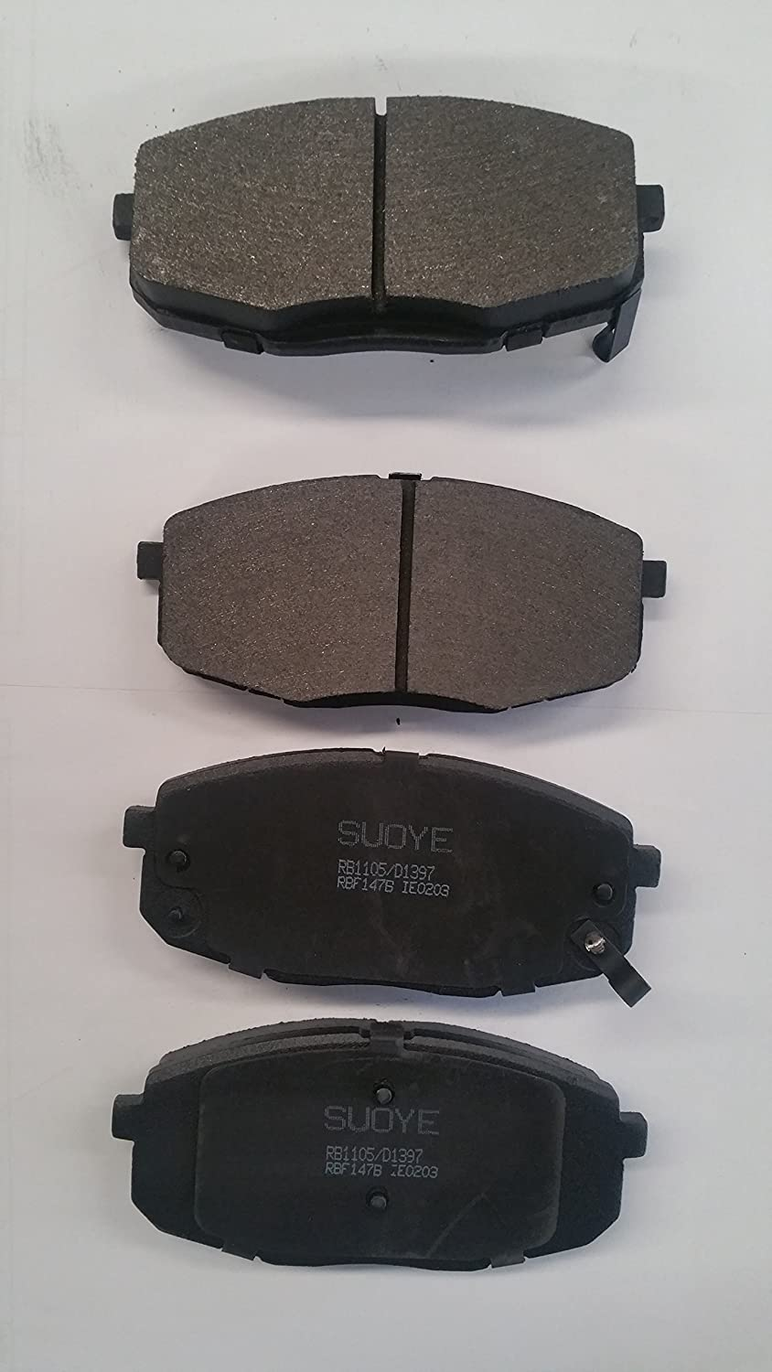 - Rear Stirling SMD537 Semi Metallic Disc Brake Pads Set Both Left and Right