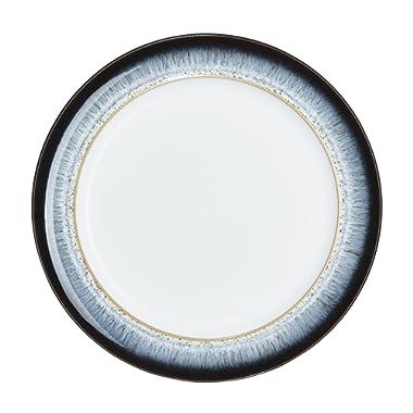 Denby (HLO-003W /4) Halo Wide Rimmed Dinner Plate, Set of 4