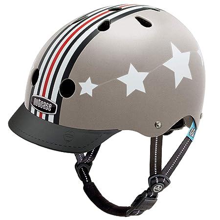 Nutcase – Patterned Street Bike Helmet for Adults, Fly Boy, Small
