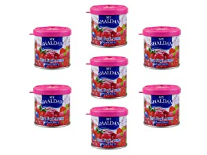 My Shaldan 7 packs Mixed Berry Scent Car Air Freshener - Best deals and Save Big - Premium Quality Gel based and long lasting fresh fragrance