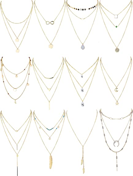 Pure natural leaf gold plated pendant Trendy Leaf Pendant Long Chain Necklace#11