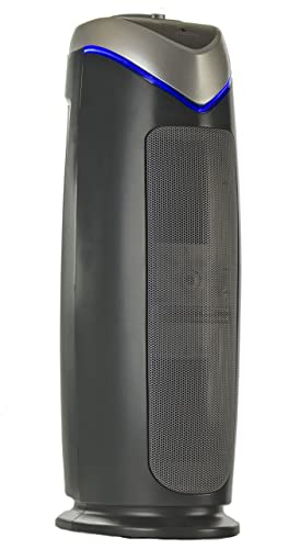 Breathe Fresh Air Purifier 3-in-1 Air Cleaning system True Hepa UV-C Odor Reducer Carbon 56 CM