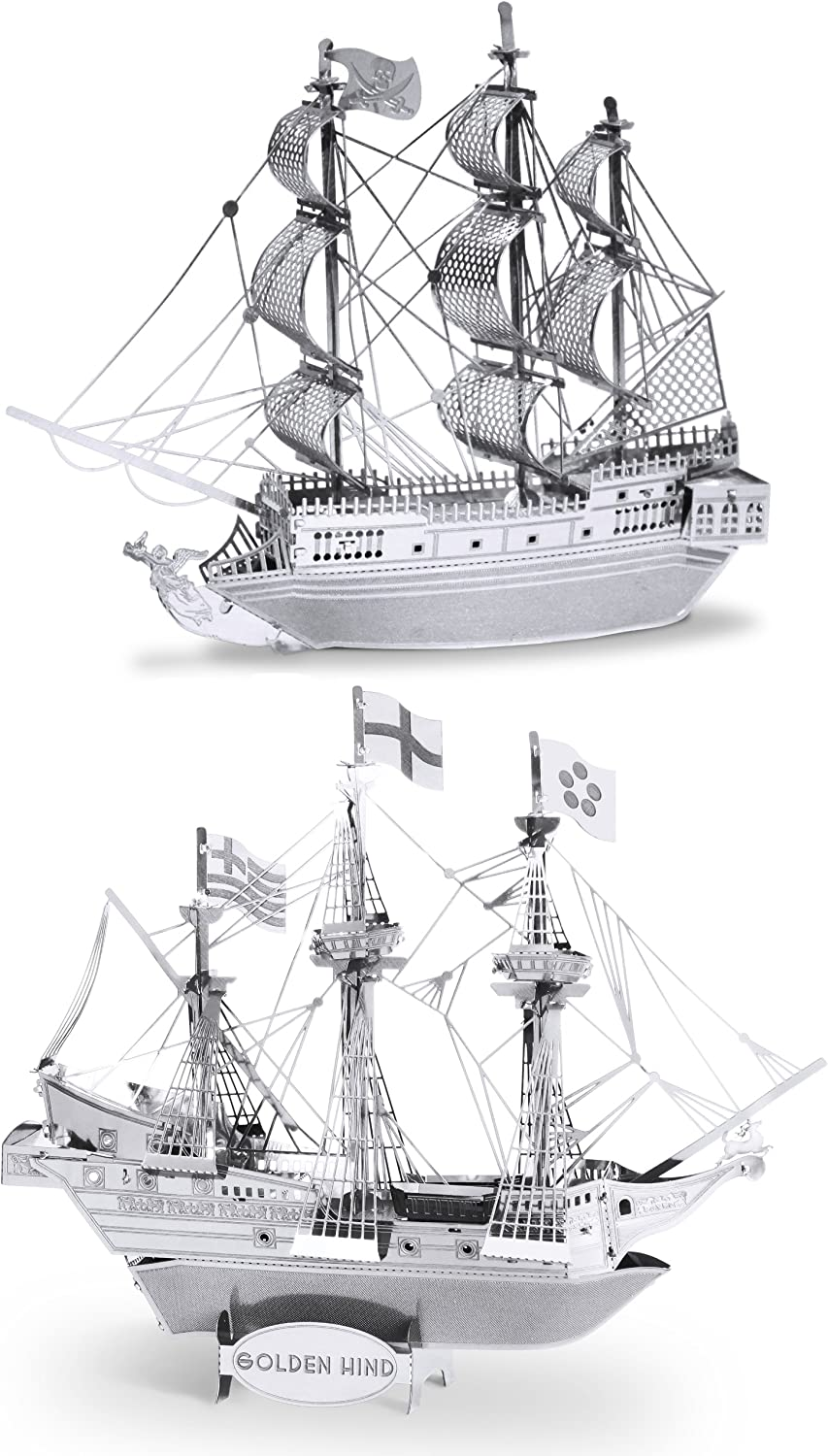Golden Hind gold Metal Earth