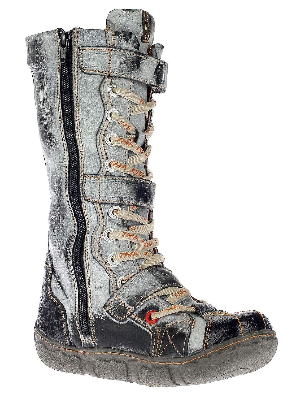 tma damen stiefel boots winterstiefel gefüttert