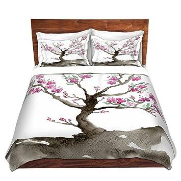DiaNoche Designs Artist Brazen Design Studio Sakura Brushed Twill Home  Decor Bedding Cover, 3