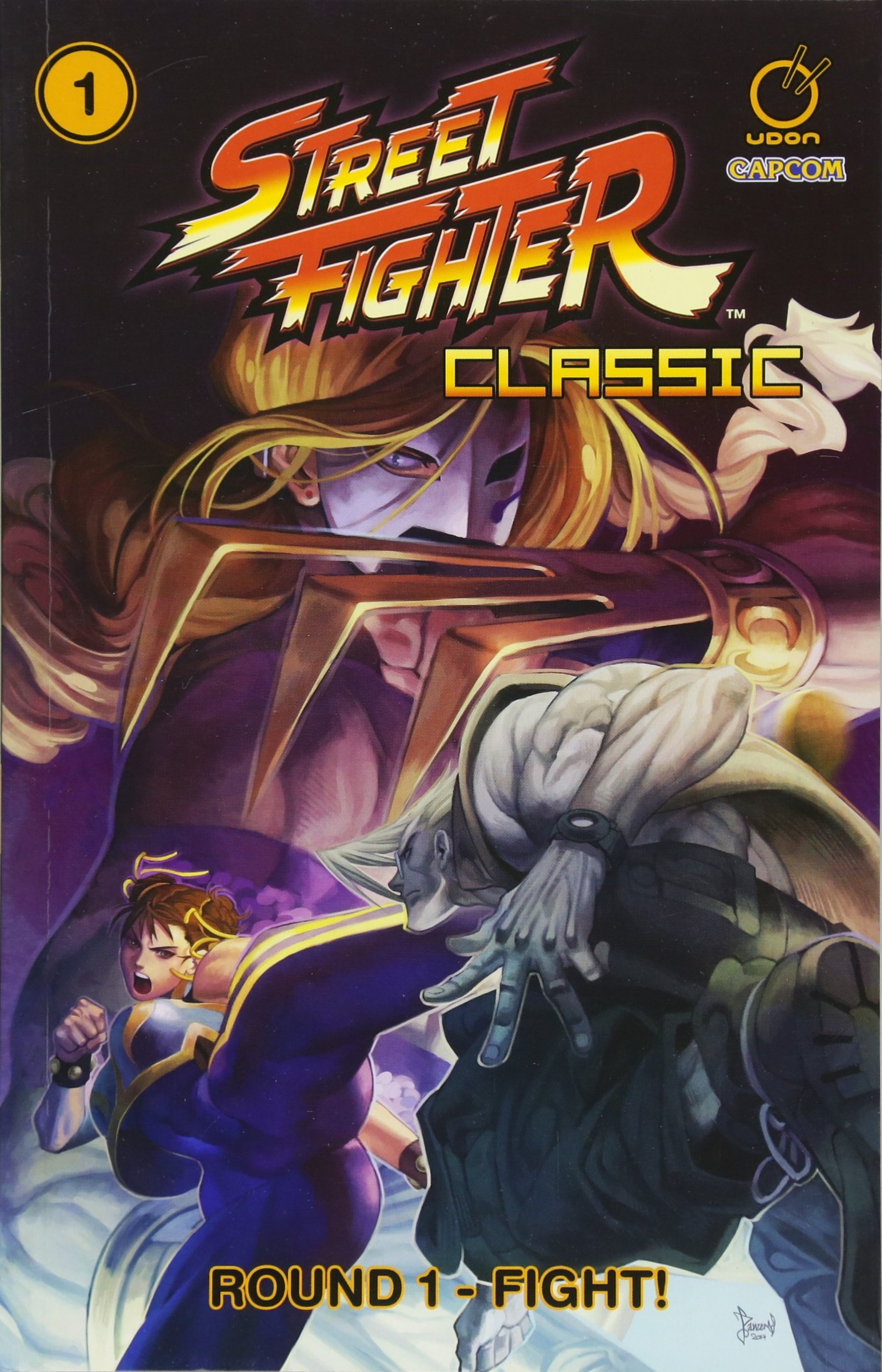 Street Fighter Classic Volume 1: Round 1 - Fight! Paperback – June 19, 2018