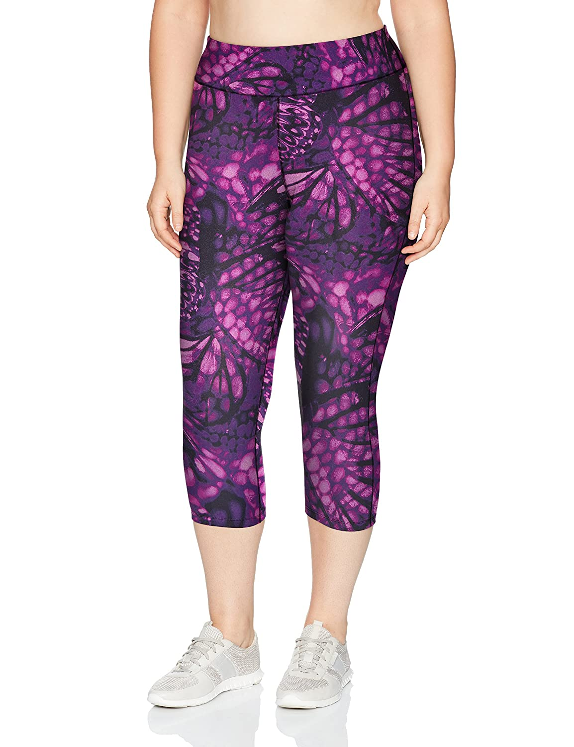 Just My Size Womens Plus-Size Active Stretch Capri Just My Size Activewear OJ366