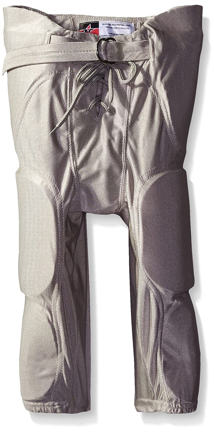 Don Alleson Youth Dazzle Football Pants, (Silver)