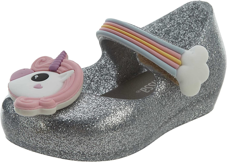 mini melissa Girl's Mini Ultragirl Unicorn (Toddler/Little Kid)
