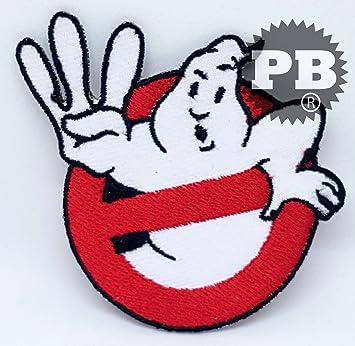 07ceacf0feb78 Patch à coudre ou thermocoller, motif logo Ghostbusters: Amazon.fr ...