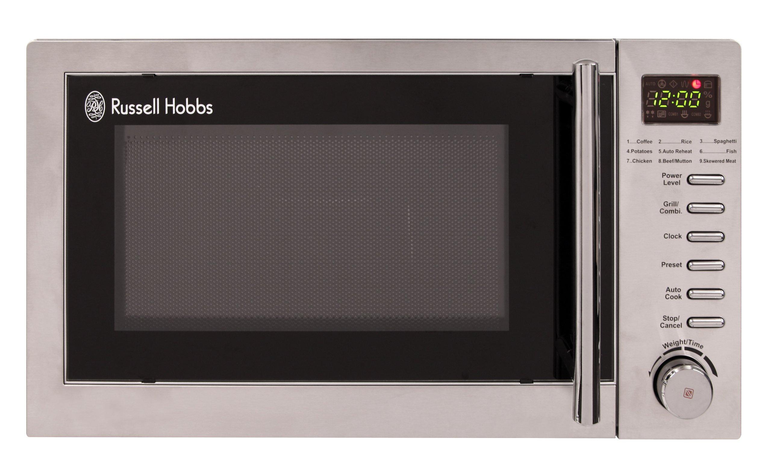 russell hobbs rhm2031 20 litre stainless steel digital. Black Bedroom Furniture Sets. Home Design Ideas
