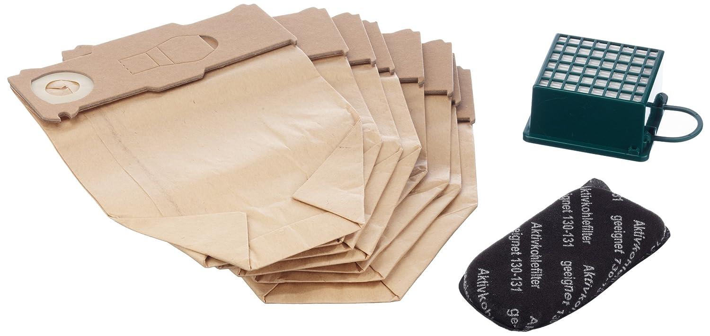 Mister vac A900 Set 8 sacchetti per aspirapolvere, filtro HEPA, filtro al carbonio, per Vorwerk Kobold 130 e 131