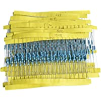 30 Kinds 1/4w Resistance 1% Accuracy Metal Film Resistor Bag 600pcs in 1 Set Passive Component Electronic componet
