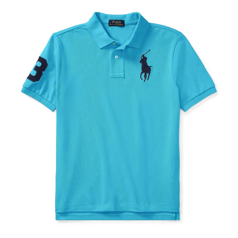 RALPH LAUREN Cotton Mesh Polo Shirt Size XL
