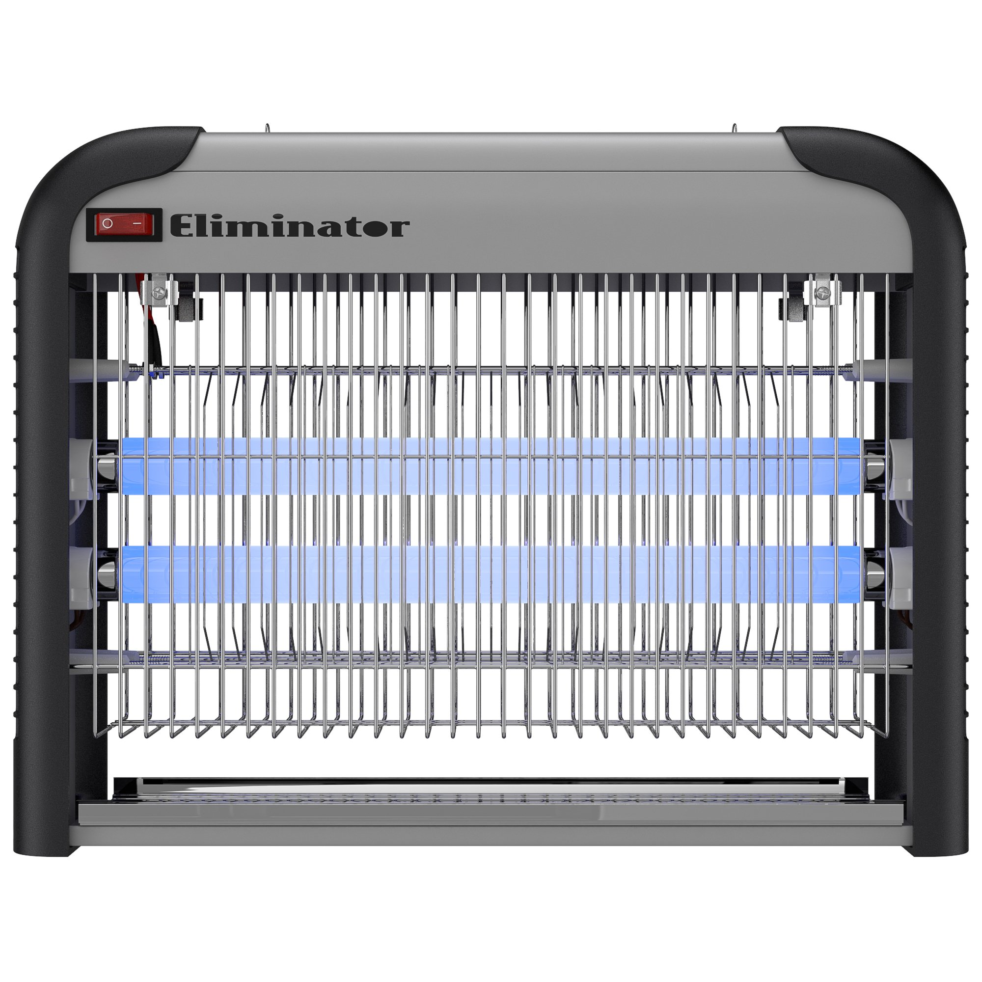 Eliminator Electronic Fly and Bug Zapper – 20 Watts, Protects 5,000 Sq. Ft. / Exterminates All Insect Pests - For Residential, Industrial and Commercial Use by Eliminator (Image #1)