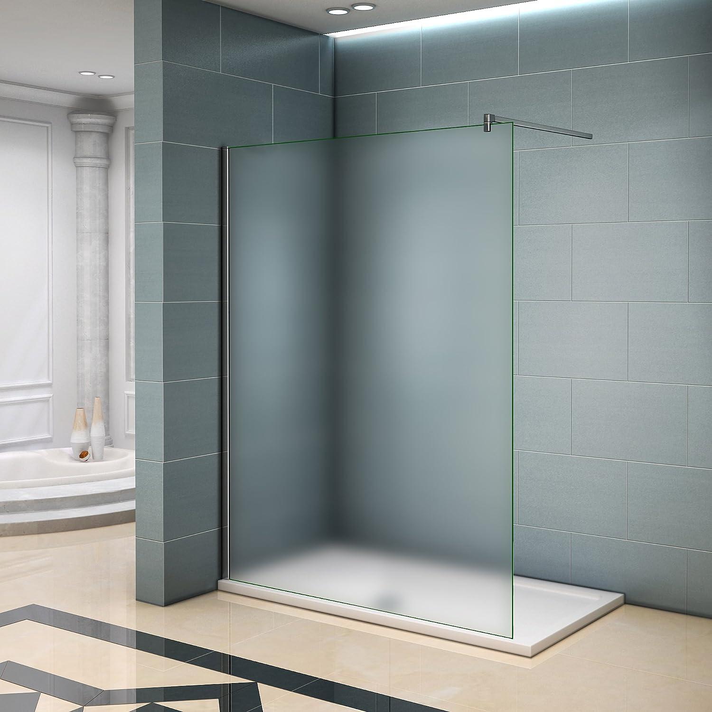 Walk in ducha pared – Mampara de ducha de 6 mm Easy Clean Nano ...