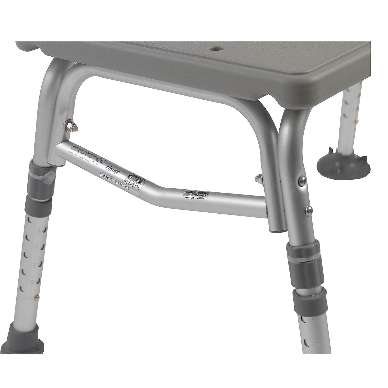 Amazon.com: Plastic Tub Transfer Bench with Adjustable Backrest ...