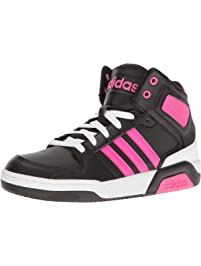 adidas Womens Bb9tis Mid (Little Big Kid) Sneaker