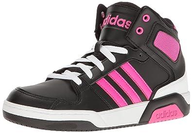 best website 89fd5 f4cd3 ... skater 798a6 f03ef  italy adidas originals girls bb9tis k sneaker black  shock pink white 10.5 f5668 5f0d5