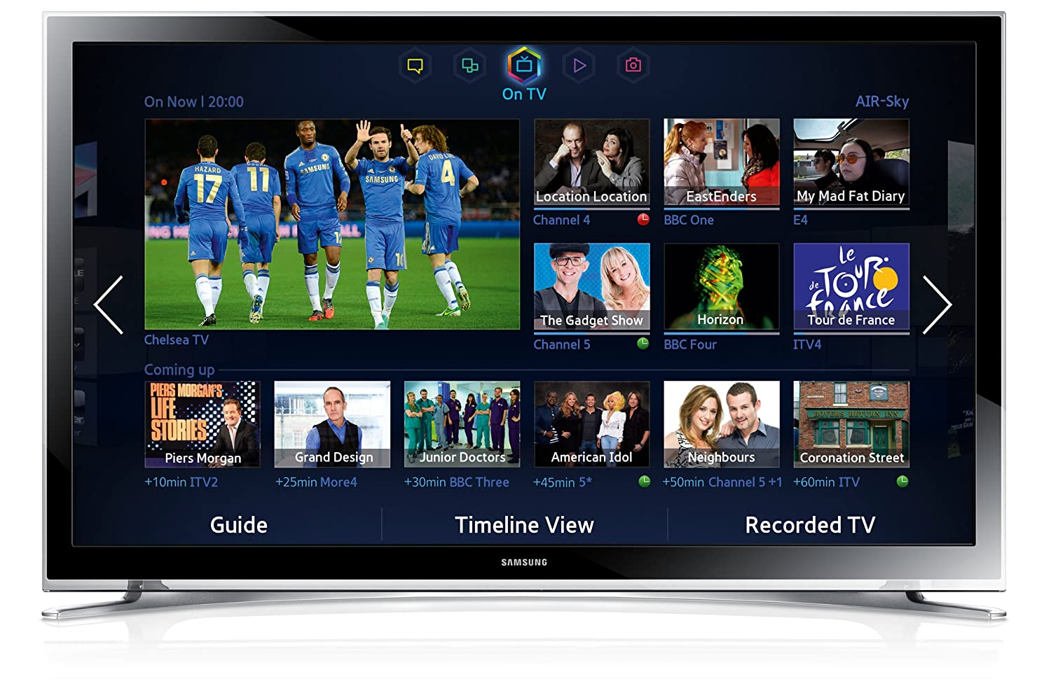 samsung tv 32 inch smart. Samsung UE32F4500 32-inch Widescreen HD Ready LED Television (discontinued By Manufacturer): Amazon.co.uk: TV Tv 32 Inch Smart