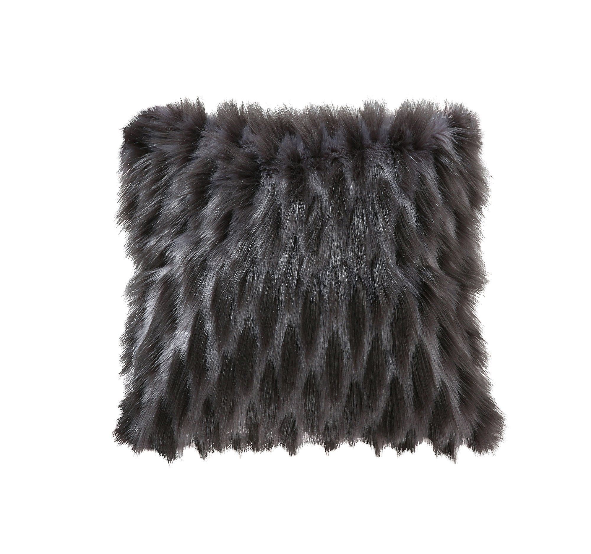 itm room mongolian pillow locqmrl grey decor living sofa case dark cushion covers home cover throw for x faux fur