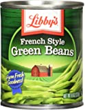 Libby's French Style Green Beans, 8 Oz (Pack of 12)