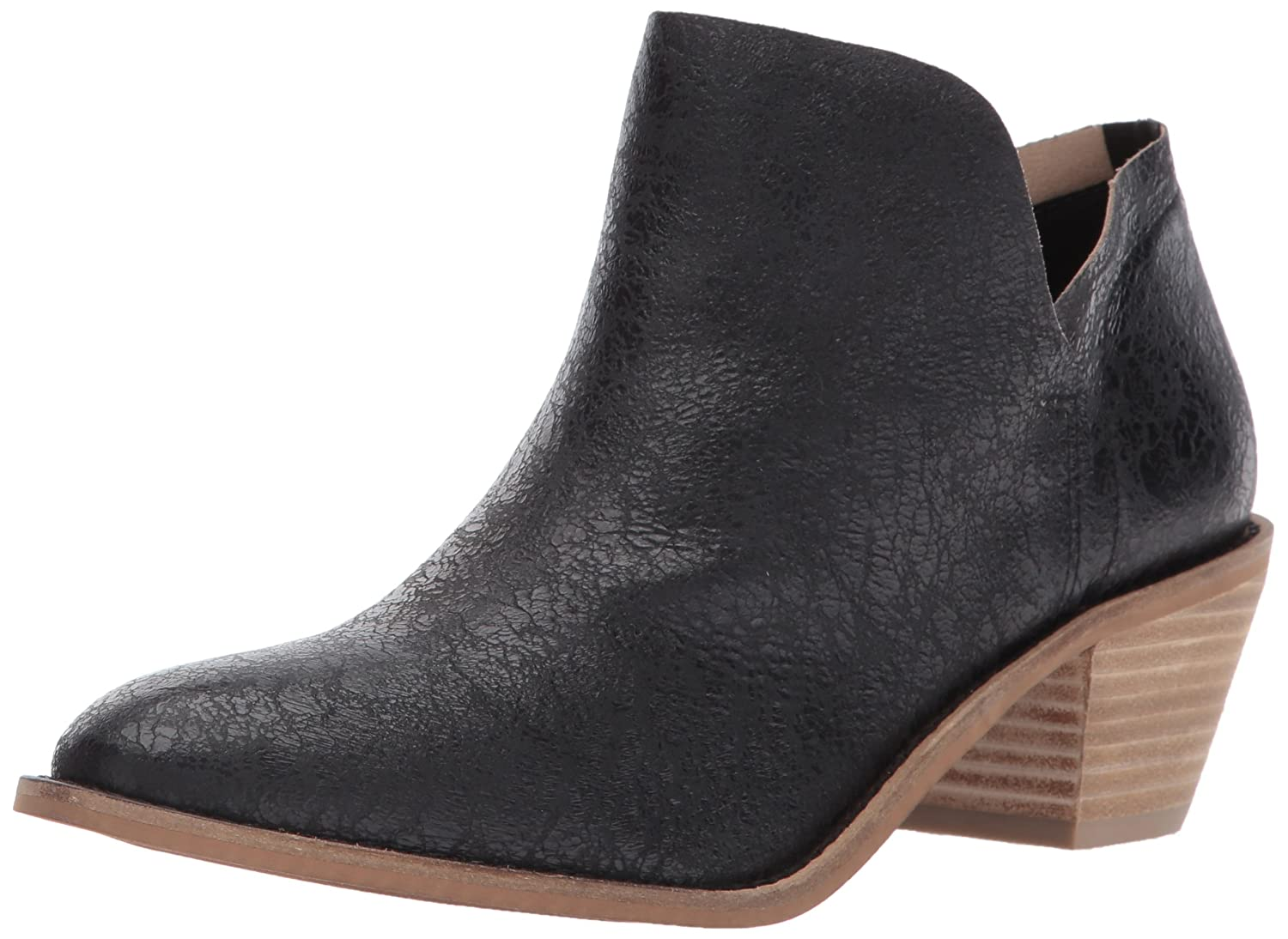 Kelsi Dagger Brooklyn Women's Kenmare Ankle Boot B01MS85QUA 5.5 B(M) US|Black Crackle Leather
