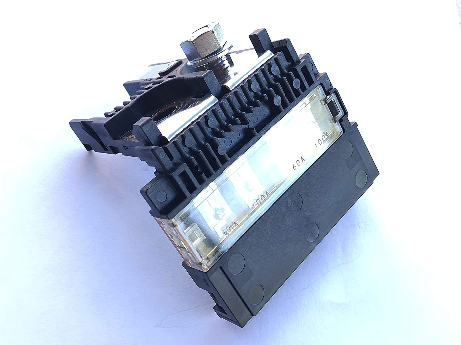 Genuine New Nissan 2438079919 Battery Fuse Terminal 5p Altima Box Clicking Alt 225a With M8 Nut Another P N Is 24380 79919 Automotive