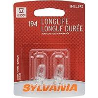 SYLVANIA 194 Long Life Miniature Bulb, (Contains 2 Bulbs)