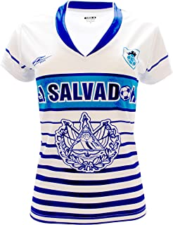 55664a1ae Amazon.com: Women's Mitre El Salvador 2016 Home Jersey(L): Clothing