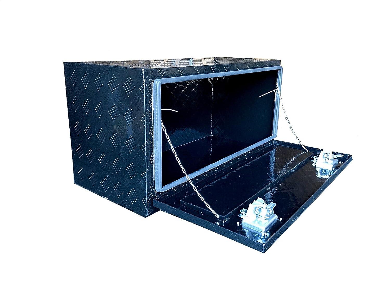 Under Bed Tool Box >> Brait Br36b Aluminum Truck Pickup Underbody Underbed Tool Box Trailer Bed Rail Storage Black