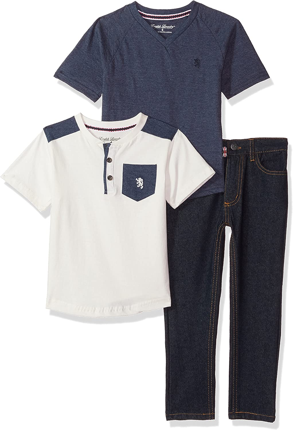 Charcoal 3T English Laundry Boys Toddler Twill Jogger