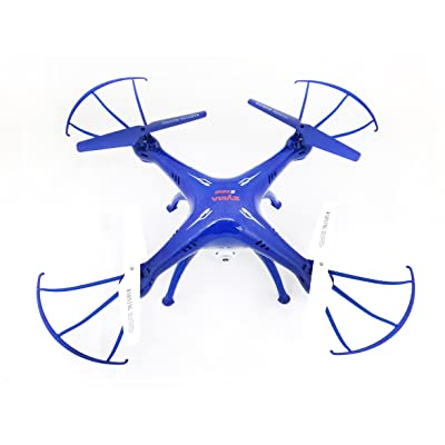SYMA X5SW-1 FPV Camera Drone with Real Time Transmission in Exclusive Blue Design with Extra Battery X5SW: Toys & Games
