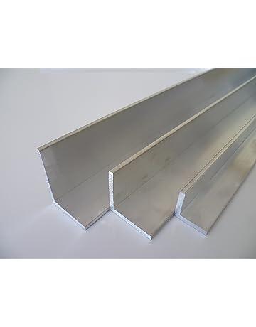 Winkelschiene anthrazit RAL 7016 200 cm lang B/&T Metall Aluminium Winkel pulverbeschichtet 15 x 15 x 2 mm
