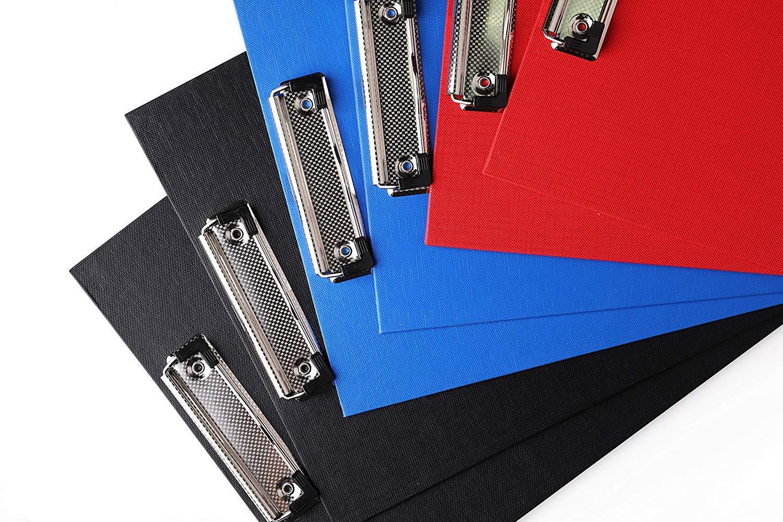 blau rot Schwarz Myling 6er Klemmbrett Zwischenablage A4