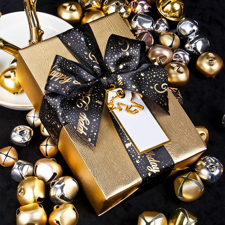 HOLIDAY CHRISTMAS Gift Ribbon MULTI COLOR Dispenser Pack 68 ft